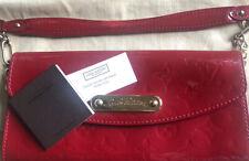 Louis Vuitton Monogram Red Vernis Sunset Boulevard Bag TH4068 £300
