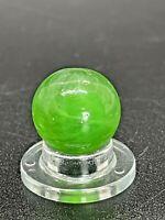 """Leighton Transitional Marble Leighton Ground Single Pontil Marble 0.551"""" NM-M"""