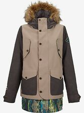 BURTON 2016 Women's PRESTIGE Jacket - Faded/Sandstruck/SplatterCam - Small - NWT
