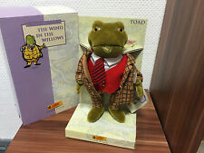 STEIFF TEDDY BÄR 037016 Classic Kröte Toad 25 CM MIT OVP & ZERTIFIKAT