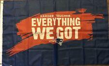 Everything We Got Flag 3x5 New England Patriots Banner Super Bowl 53 LIII