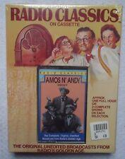 Radio Classics Amos N Andy Vol III Cassette New Sealed Radio Broadcast Old Time