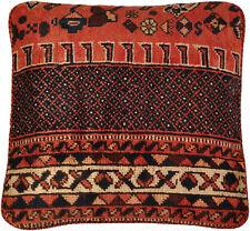 Gabbeh Teppich Kissenbezug 40 x 42 cm Persien Wolle handmade