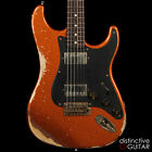 BRAND NEW LSL SATICOY HEAVY AGED CUSTOM STRAT STYLE GUITAR BURNT COPPER SPARKLE for sale