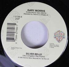 Christmas 45 Gary Morris - Silver Bells / Every Christmas On Warner Brothers Rec