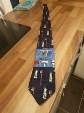 "Vicky Davis Men's Tie Mirror Image Novelty Fun Polyester 4"" Width 59"" Length"