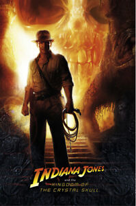 Indiana Jones And The Kingdom Of The Crystal Skull - Movie Poster (Adv 27 X 40)