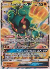 Pokemon Burning Shadows Marshadow GX 80/147 Ultra-Rare Card