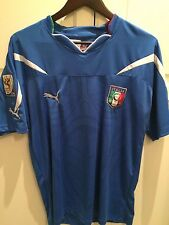 Puma Italia Official Soccer Jersey - South Africa 2010 - Men's Size XL