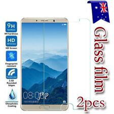 2x Huawei Mate 10 | 10 Pro Tempered Glass / Plastic Screen Protector Film Guard