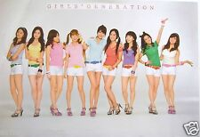"GIRLS' GENERATION ""WHITE SHORT SHORTS"" ASIAN POSTER-Sexy Korean Girl Band K-Pop"