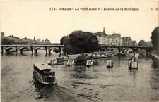 CPA PARIS (6e) Le Pont-Neuf et l'Ecluse de la Monnaie (535310)