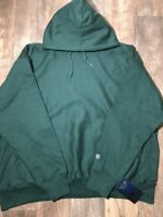 New Green Reverse Weave Notre Dame Hoodie W/ Logo *3X-Large*