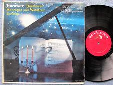 HOROWITZ: Beethoven Moonlight and Waldstein Sonatas RCA Mono LP LM-2009