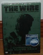 THE WIRE 2º TEMPORADA COMPLETA PRECINTADO NUEVO 5 DVD SERIE DRAMA (SIN ABRIR) R2
