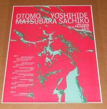 Otomo Yoshihide Matsubura Sachiko Poster Original 17x24 RARE