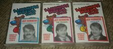 Jeff Foxworthy Laughing Hyena Tapes 1989 Cassette Tapes LOT OF 3 comedy redneck