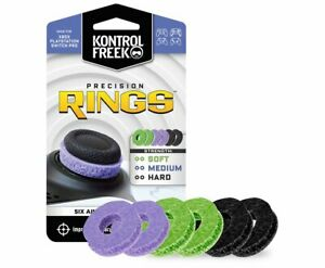 KontrolFreek Precision Rings | Green, Purple, Black | PlayStation, Xbox, Switch