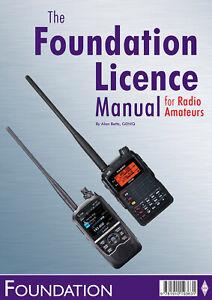 Foundation Licence Manual for Radio Amateurs - Ham Training & Exam Book FREE P&P