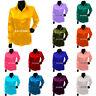 Satin Langarmhemd Hemd / Bluse Top Casual / Party tragen Mädchen Shirt S81