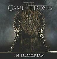 Game of Thrones: In Memoriam by Pearlman, Robb, NEW Book, FREE & Fast Delivery,