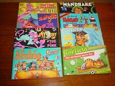 LOT OF EIGHT (8) COMIC BUDGET BOOKS * PINK PANTHER (3) HAGAR GARFIELD-3 MANDRAKE