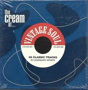 The Cream of Vintage Soul - Sealed 3 cd set - Eddie Holman, Bob and Earl, Ruffin