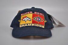 SUPER BOWL Champions XXXII Packers vs Broncos 1998 San Diego Cap Hat Navy  Blue 660766bd7