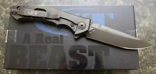 NEW KAI Zero Tolerance ZT 0450CF Flipper Folding Knife Titanium & S35VN PRIORITY