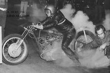 Harley-Davidson Sportster dragracer & Leo Payne - 1968 - motorcycle photo