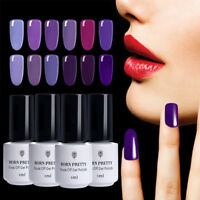 5ml Nail Art UV LED Gel Polish Soak Off Varnish Purple Series Decors Born Pretty