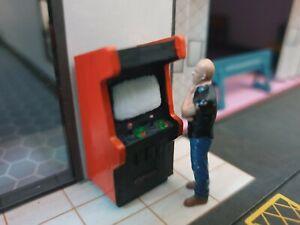 1/64 Scale Resin Arcade Machine (1) Hot Wheels Matchbox Diorama