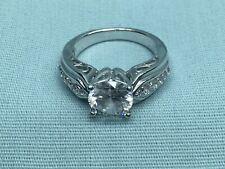 Engagement Ring Size 6 1/4 925 Dq Cz 2 Carat