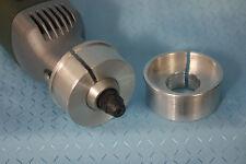 Alu Proxxon Adapter 43/20 mm zum Spannen in Bohrständer Fräsmaschine