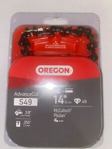 """Oregon S49 14"""" Chainsaw Chain - Poulan - McCulloch - NEW - FREE SHIPPING"""