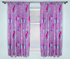 Trolls Glow Official Licensed 72inch Curtains Girls Kids Bedroom