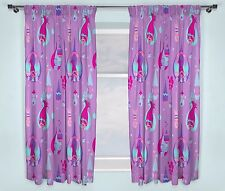 "TROLLS NEW OFFICIAL 66"" x 72"" CHILDRENS READY MADE BEDROOM CURTAINS"