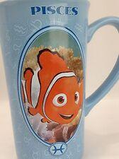 Disney Nimo Clownfish Tall Ceramic Blue Mug