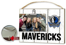 Dalla Mavericks Clip It Weathered Logo Photo Frame [NEW] NBA Picture Plaque