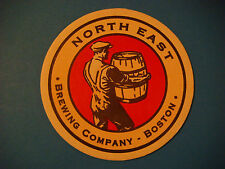 Beer Coaster ~<:>~ NORTH EAST Brewing Co ~ Alston (Boston), MA ** Open 1996-2001