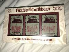 Pirates of the Caribbean 50 Years Box Set of 3 Pins LE 150 D23 Expo 2017