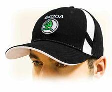 SKODA baseball Cap, Unisex hat, black. Adjustable size with embroidered logo!!!