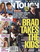 In Touch Magazine May 11 2009 Brad Pitt Charlie Sheen Lindsay Lohan Rihanna