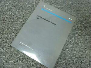 Repair Manuals Literature For 1991 Mercedes Benz 350sdl For Sale Ebay
