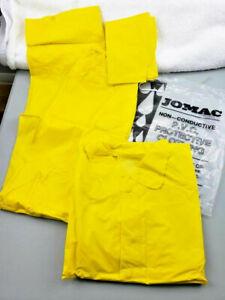 Jomac Style  PVC Protective CLothing RainSuit Coat jacket sport gear Sz XL