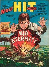 Hit Comics #25 Photocopy Comic Book 1st Kid Eternity, Origin
