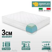 Materasso matrimoniale Memory e Touch Foam Roma. Garantito Eminflex.