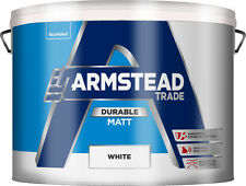 10L Armstead Durable / scrubbable matt paint White