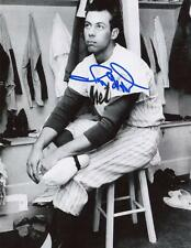 RON HUNT IN CLUBHOUSE NEW YORK METS SIGNED AUTOGRAPHED 8x10 PHOTO W/COA
