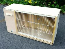 "Cockatiel Parakeet Lovebird Breeding Cage 33"" x 18"" x 12"" LH Nest Box"